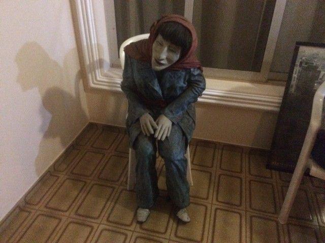 Esculturas em tamanho real, bonecos para bares e restaurantes  - Foto 3