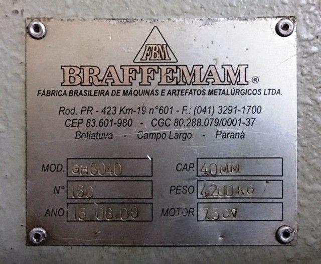 Guilhotina Hidráulica Braffemam ( 4,0mm x 3050mm ) - Foto 6