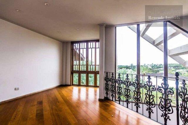 LF-CA0513-Casa com 4 dorm para alugar,472 m² por R$ 9.500/mês-São João-Curitiba/PR - Foto 7