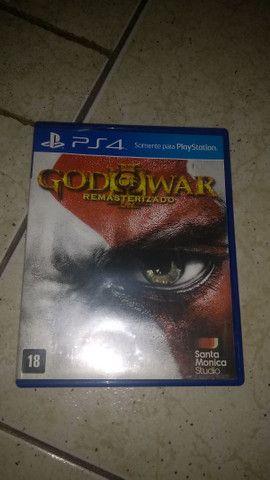 GOD OF WAR remasterizado De ps4