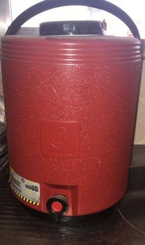 Chapa á gás + garrafa térmica de 12 litros  - Foto 2