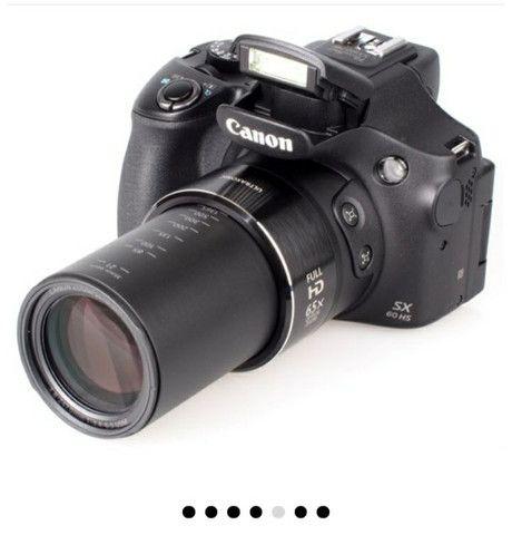 Vendo câmera Canon  Pawershot sx60 hs