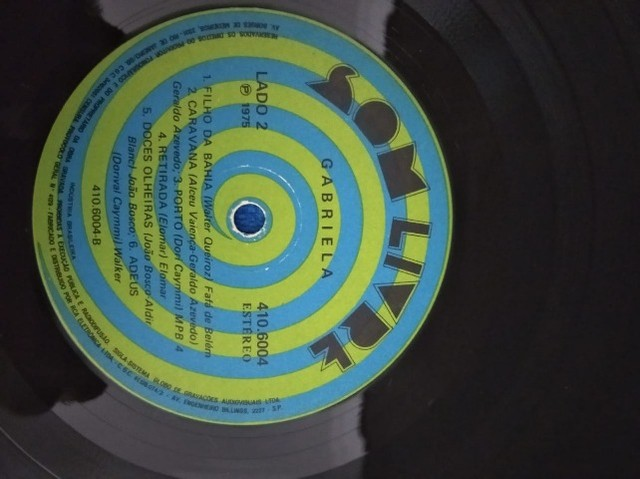 LP\Disco - Trilha Sonora da Novela Gabriela - 1975 - Capa Dupla - Foto 4