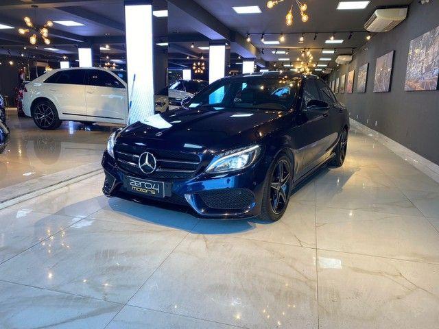 Mercedes-Benz C300 2.0 Sport 9G-Tronic 2018,Configuração Linda,Impecável