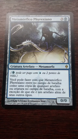 Vendo magic Metamórfico Phyrexiano