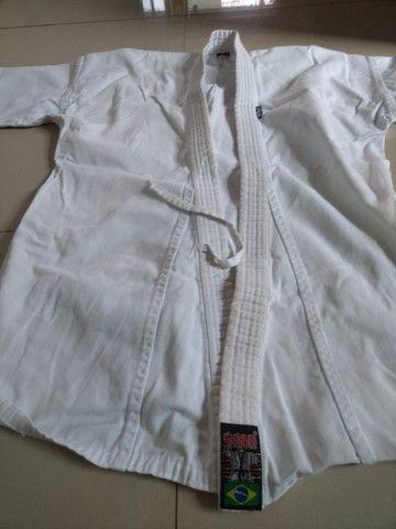 Kimono shiroi infantil/juvenil - Foto 3