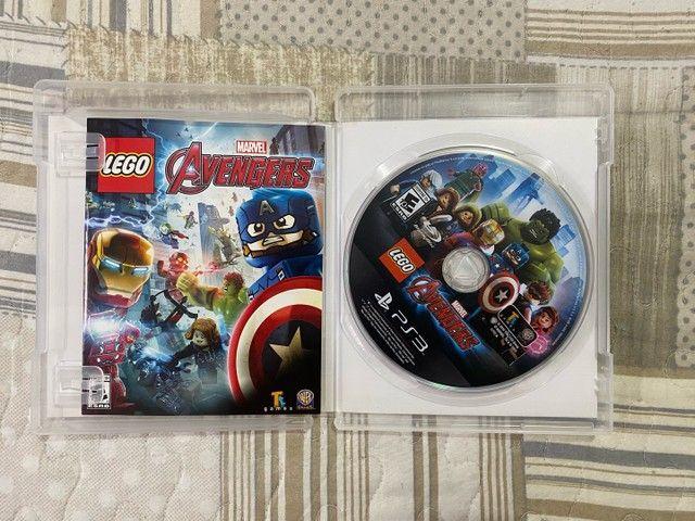 Lego Marvel Avengers Vingadores Ps3 Original Mídia Física - Foto 3
