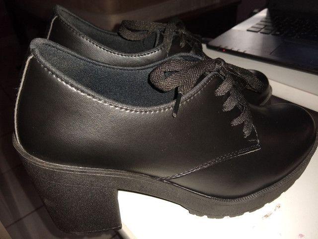 Sapato Oxford Feminino - Foto 3