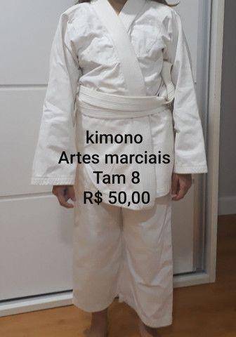 Kimono Artes marciais