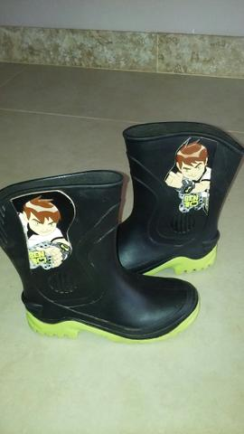 Galochas, botas do Ben 10