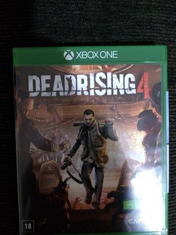 Vendo ou troco dead rising Xbox one