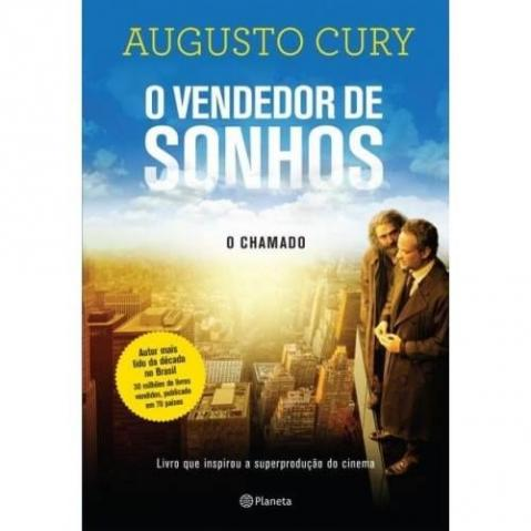 Livro O Vendedor de Sonhos - O Chamado; Augusto Cury - SOMENTE VENDA