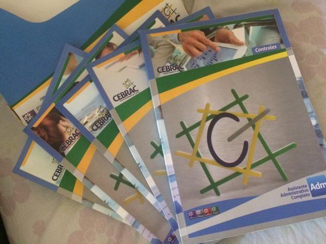 Livros do Curso de Assistente Administrativo Do CEBRAC