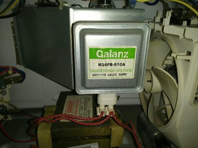 Conserto de microondas, cafeteira ventilador fritadeira grill etc.
