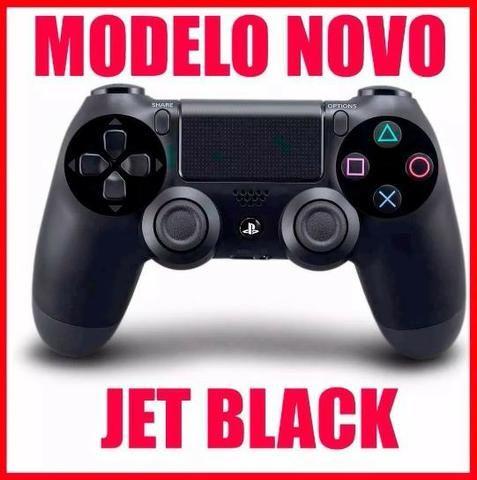 Controle Ps4 Dualshock Jet Black Original Sony