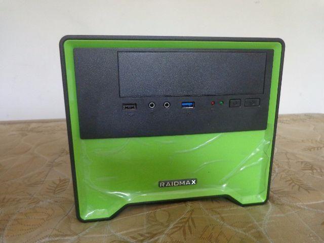 Gabinete Gamer Element Case Verde 101bg Raidmax