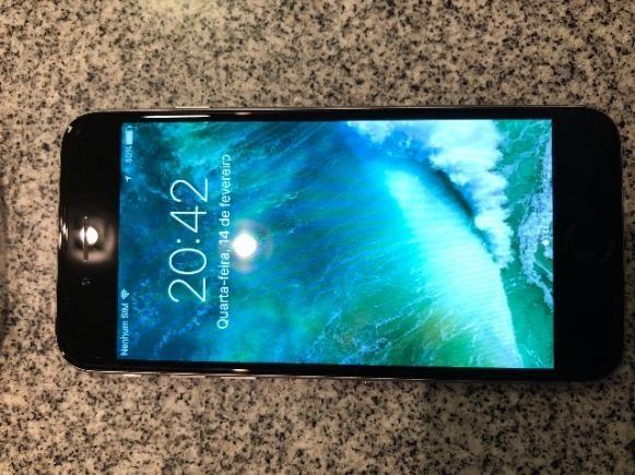 IPhone 6 16 GB cinza platina