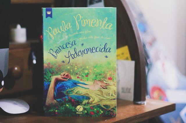 Livro: princesa adormecida - novo