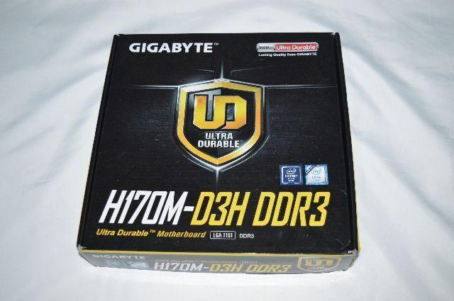 Placa Mãe Gigabyte H170M-D3H DDR3