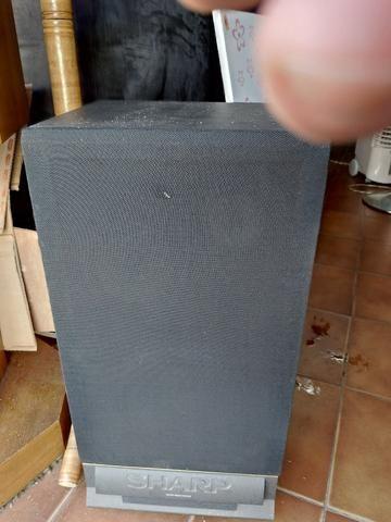 Caixa de Som Sharp (uma peça)