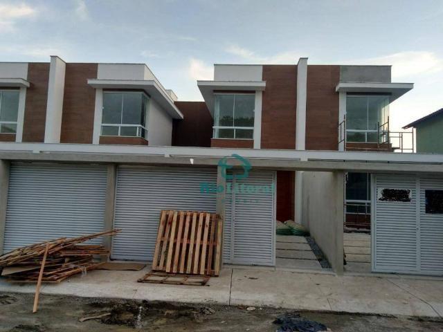 Casa com 3 dormitórios à venda, 115 m² por R$ 370.000 - Ouro Verde - Rio das Ostras/RJ