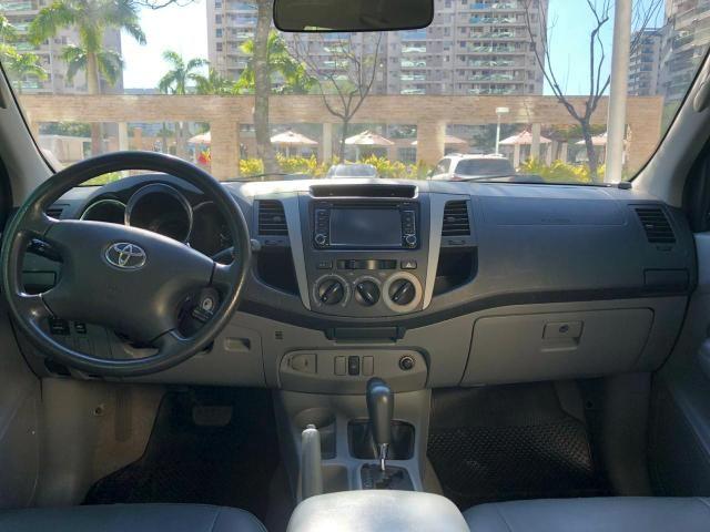 Hilux SRV 2008 4x4 turbo diesel automática - Foto 5
