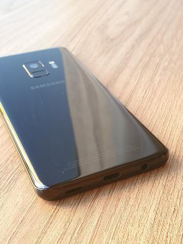 Samsung Galaxy s9 Preto 128 Gb-Impecável - Foto 3