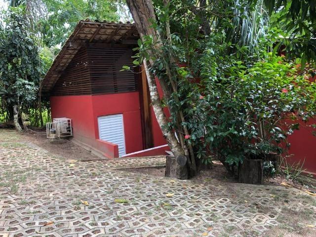 Casa 3/4 Praia do Forte, na beira da lagoa Aruá, contato direto com a natureza - Foto 9