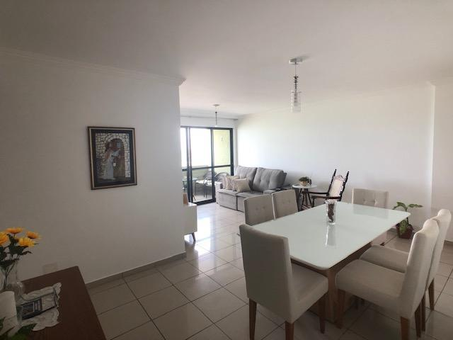 Apartamento 127m2, 3 quartos, 1 suíte, lazer completo, Beira-Mar de Olinda - Foto 4