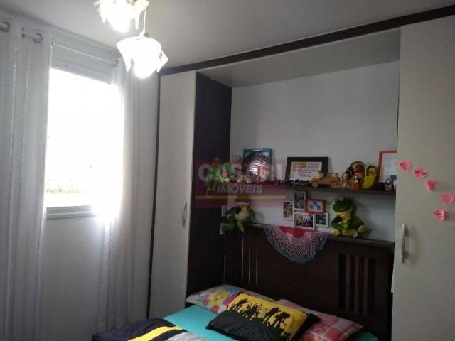 Apartamento com 2 dormitórios à venda, 55 m² por r$ 235.000 - conjunto residencial pombeva - Foto 4