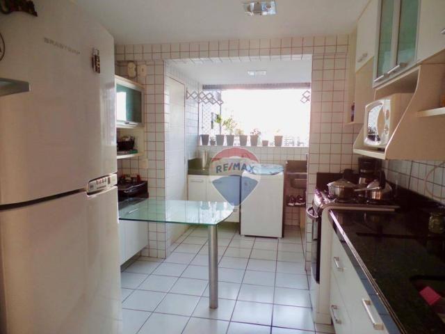 Apartamento com 3 dormitórios à venda, 97 m² por R$ 400.000,00 - Tirol - Natal/RN - Foto 6