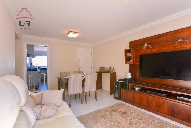 Apartamento com 3 dormitórios à venda, 79 m² por R$ 310.000,00 - Bacacheri - Curitiba/PR