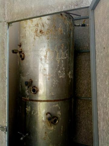 Boiler aço-inox/tanque/reservatório/aquecimento solar de água - Foto 3