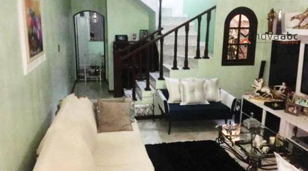 Sobrado com 3 dormitórios à venda, 220 m² por R$ 590.000 - Parque Marajoara - Santo André/ - Foto 5