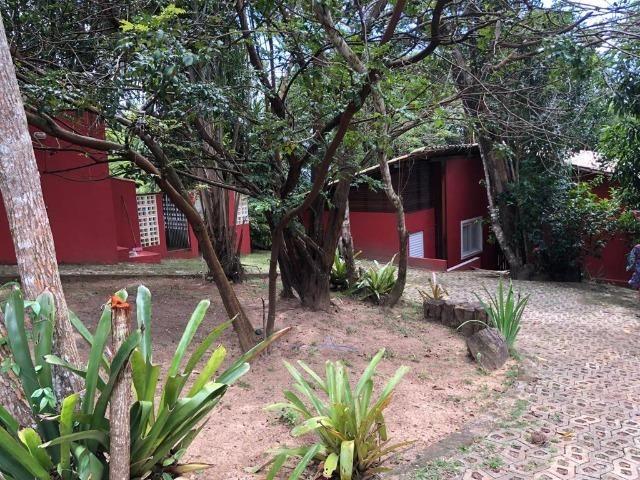 Casa 3/4 Praia do Forte, na beira da lagoa Aruá, contato direto com a natureza - Foto 10