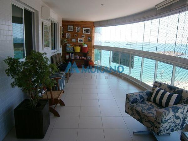 Murano Imobiliária vende apartamento de 3 quartos na Praia da Costa, Vila Velha - ES
