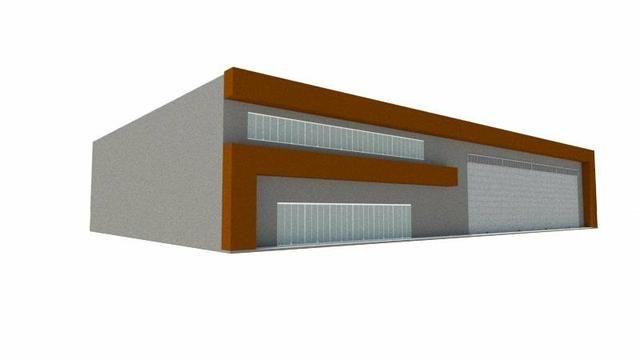 Galpão SHN com 1600 m²