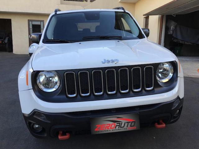 Jeep Renegade Trailhawk 2016 2.0 4×4 TB Diesel com IPVA 2019 PAGO - Revisada