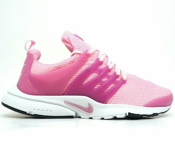 Tênis Feminino Nike Air Presto Rosa E Branco