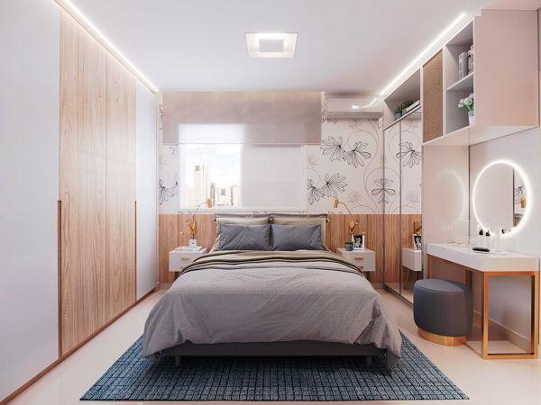 Apartamento com 2 quartos no Raízes Parque Cascavel - Bairro Vila Rosa em Goiânia - Foto 4
