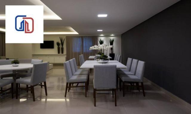 Apartamento com 2 dormitórios à venda, 62 m² por R$ 377.137 - Manaíra - João Pessoa/PB - Foto 10