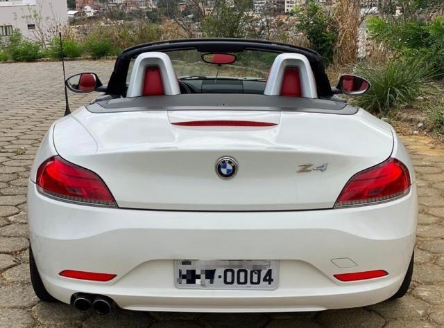 bmw Z4 conversivel 6cc interior vermelho - Foto 16