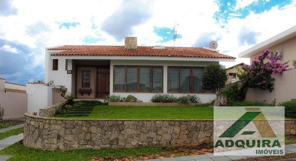 Casa sobrado com 4 quartos - Bairro Estrela em Ponta Grossa - Foto 2