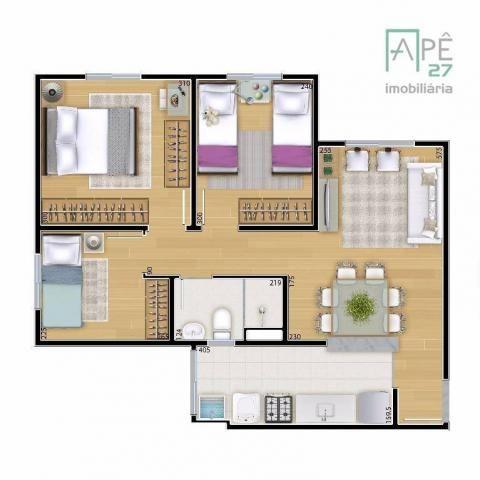 Apartamento à venda, 55 m² por R$ 310.000,00 - Ponte Grande - Guarulhos/SP - Foto 4