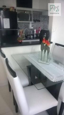Apartamento à venda, 55 m² por R$ 310.000,00 - Ponte Grande - Guarulhos/SP