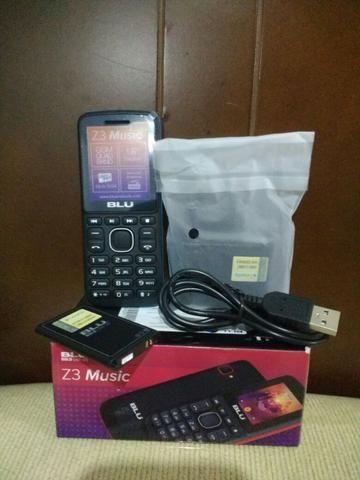 Telefone Celular Blu Z3 Dois Chips Com Câmera Original Idoso - Foto 4