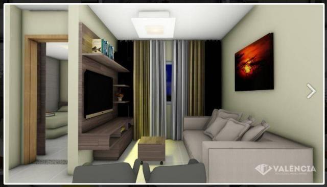 Apartamento com 1 dormitórios à venda, 39 m² por R$ 175.000,00 - São Cristóvão - Cascavel/ - Foto 7
