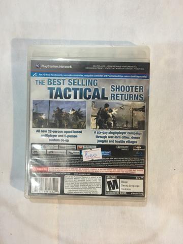 Jogo PS3 SOCOM 4 + SHARP SHOOTER - Foto 2
