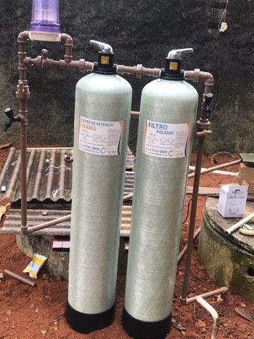 Sistema de tratamento de água - Retiramos ferro da água