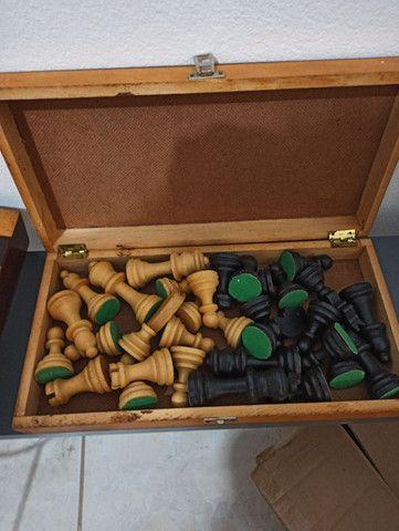 Jogo de chadrez antigo - Foto 2